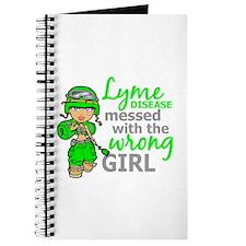 Lyme Disease Combat Girl Journal