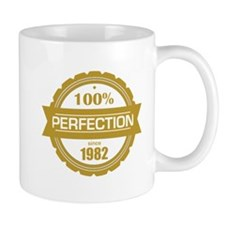 perfection since 1982 Mugs