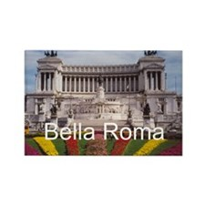 Customizable Rome Ital Rectangle Magnet (100 pack)