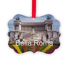 Customizable Rome Italy Souvenir Ornament