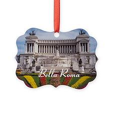 Customizable Rome Italy Souvenir Picture Ornament