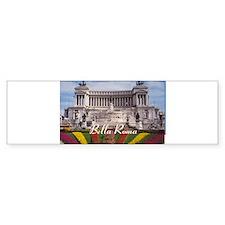 Customizable Rome Italy Sou Bumper Sticker