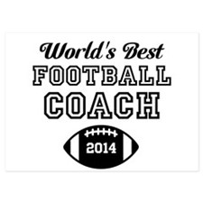 Worlds Best Football Coach Invitations