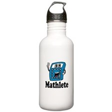 Mathlete calculator Water Bottle