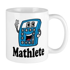 Mathlete Calculator Mugs For Math Lover
