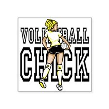 Volleyball chick Sticker