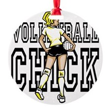 Volleyball chick Ornament