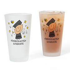 Cute Boy Kind Grad 14 Drinking Glass