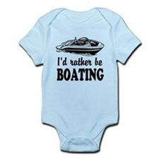 Id rather be boating Body Suit