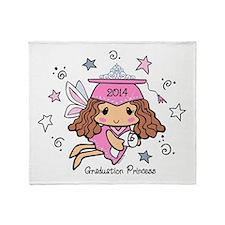 Graduation Princess 2014 Throw Blanket