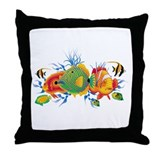 Cute Colorful Throw Pillow