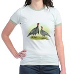 Blue Turkeys Jr. Ringer T-Shirt