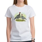 Blue Turkeys Women's T-Shirt