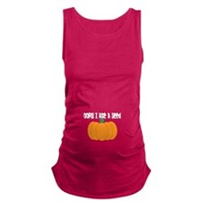 OOPS! I ate a seed Pumpkin Maternity Tank Top