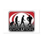Evolution Soccer Mini Poster Print