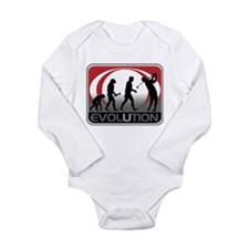 Evolution Golfer Long Sleeve Infant Bodysuit