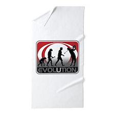 Evolution Golfer Beach Towel