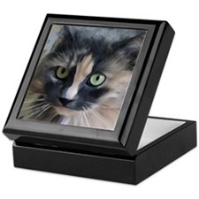 Cute Ragamuffin cat Keepsake Box
