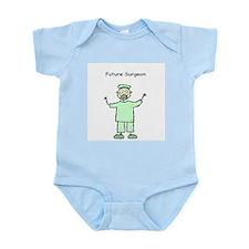 Future Surgeon Green Scrubs Onesie