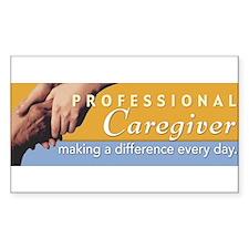 prof_caregiver_bumper Decal