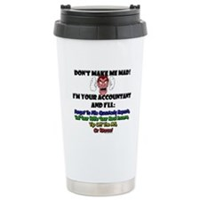 Cute Mad money Travel Mug