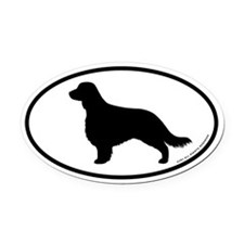 Welsh Springer (long tail) Oval Car Magnet