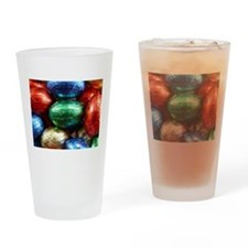 easter eggs Drinking Glass