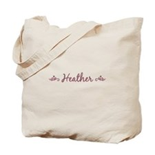 """Elegant Heather"" Tote Bag"