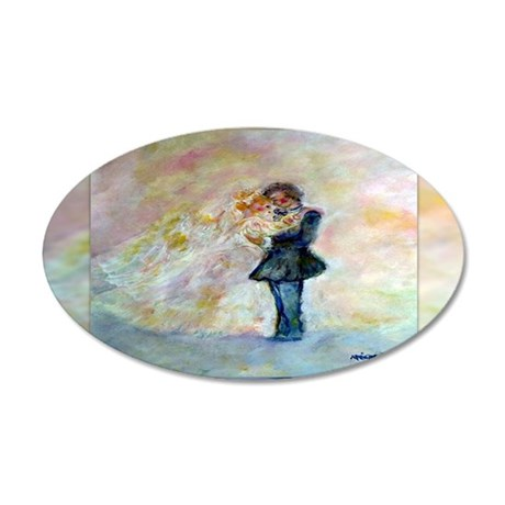 Wedding Dance Designer Art Wall Decal