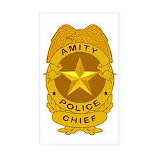 Amity Chief Badge  Decal