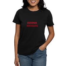 Two Line Custom Sports Message T-Shirt