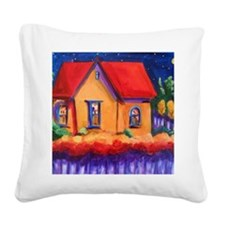 Night Owls, Some People do be Square Canvas Pillow