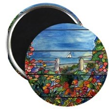 Tiffany Seascape Magnets