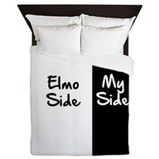 Elmo Side Of The Bed Queen Duvet