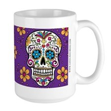 Sugar Skull PURPLE Mug