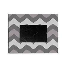 Dark Grey Chevron Picture Frame