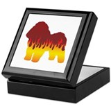 Bolognese Flames Keepsake Box
