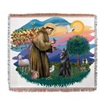 St Francis #2/ B Shepherd Woven Blanket