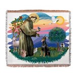 St.Francis #2/ Dobie (cropped Woven Blanket