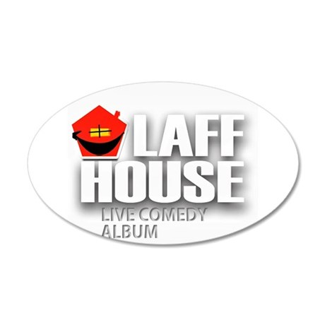 Laff House Comedy Album Wall Decal