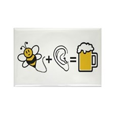 Bee Plus Ear Magnets