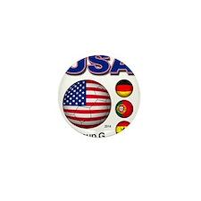 USA Soccer G Mini Button