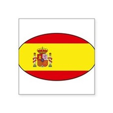 "Unique Spanish Square Sticker 3"" x 3"""