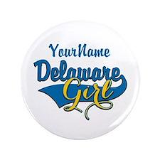 "Delaware Girl 3.5"" Button (100 pack)"