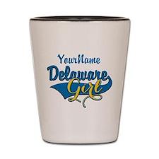 Delaware Girl Shot Glass