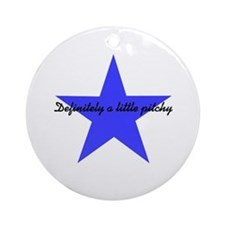 Pitchy Ornament (Round)
