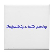 Pitchy Tile Coaster