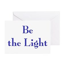 Be the Light 2 Greeting Cards (Pk of 10)