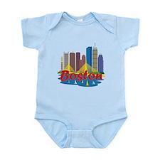 Boston Skyline Body Suit