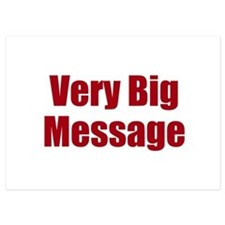 Very Big Custom Message Invitations